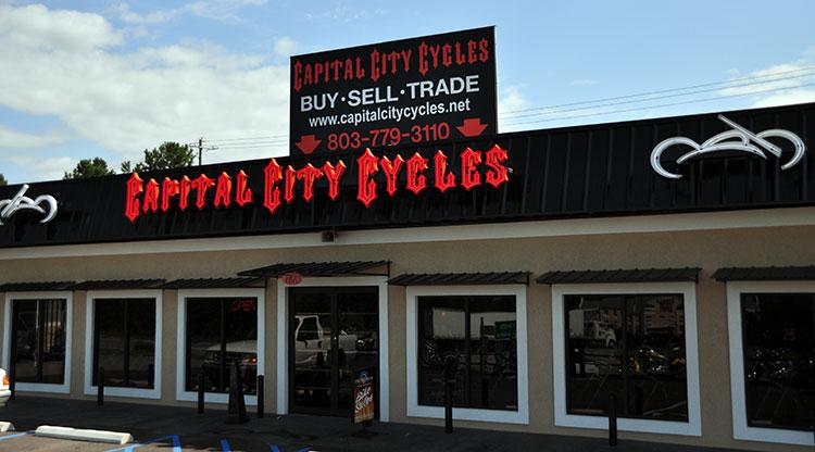 dealership information | capital city cycles | columbia south carolina
